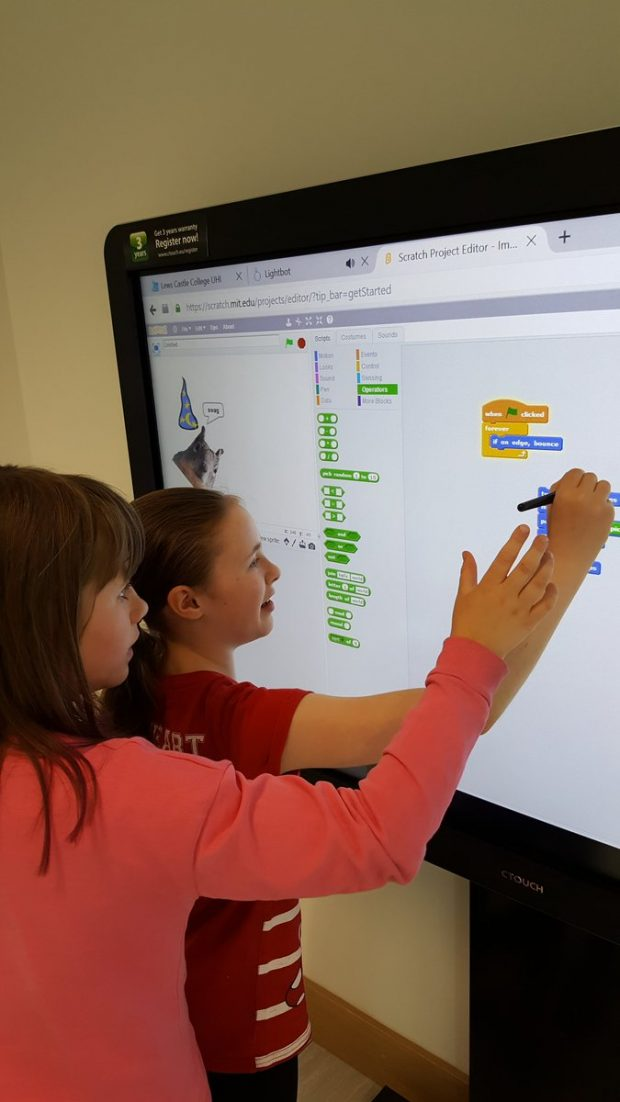 Introduction to Coding with Scratch